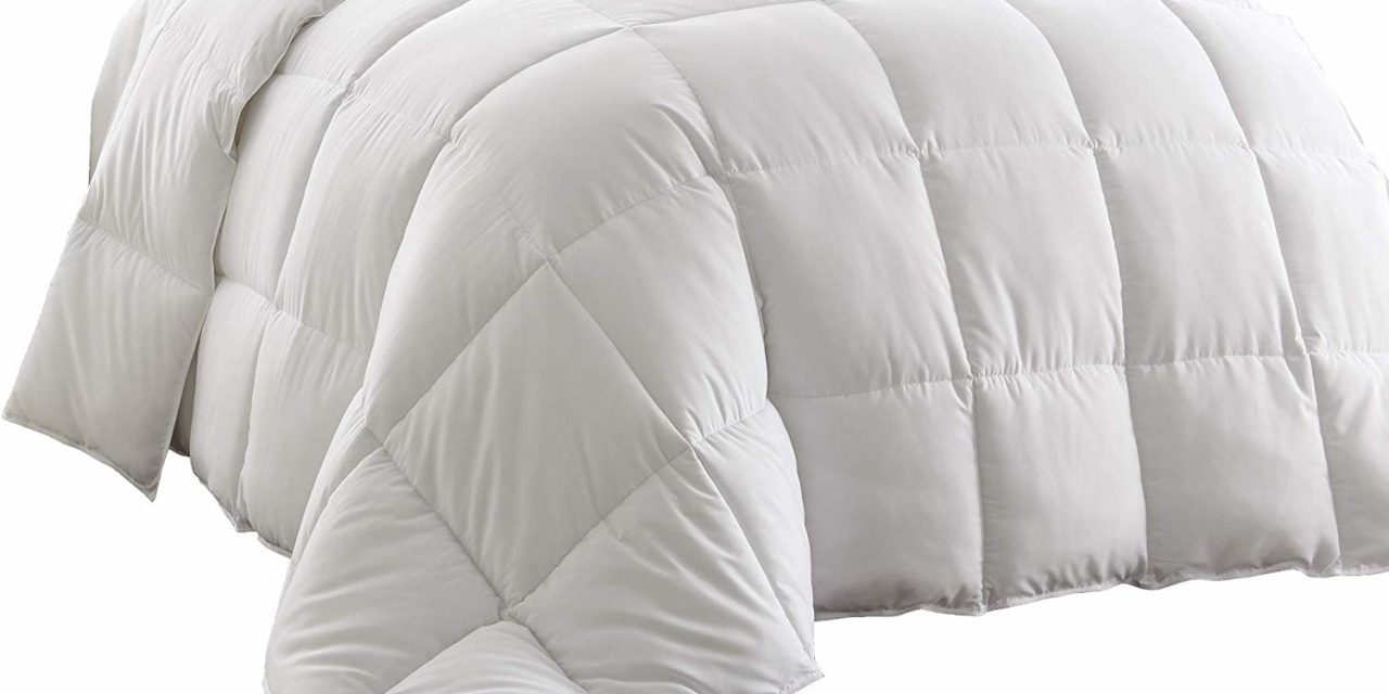 Chezmoi Collection White Goose Down Alternative Comforter Review